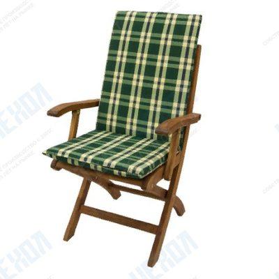 Матрац для кресла-шезлонга Бриз цвет в ассортименте