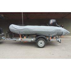 Тент на лодку GLADIATOR D 370 AL FB CAMO (фальш борт)