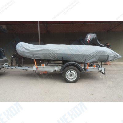Тент на лодку Солар-420 Стрела Jet Tunnel