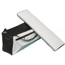 Накладка на банку с сумкой, длина от 100 до 110 см., ширина от 20 до 22 см