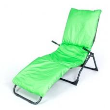 Подушка-матрас водоотталкивающ. 192х60х5 см цвет зеленый