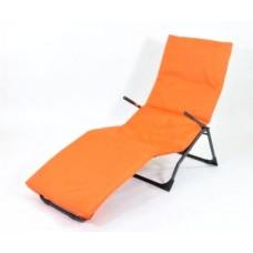 Подушка-матрас водоотталкивающ. 192х60х5 см, оксфорд 100% пэ, оранж