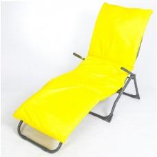 Подушка-матрас водоотталкивающ. 192х60х5 см, оксфорд 100% пэ, желтый