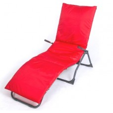 Подушка-матрас водоотталкивающ. 192х60х5 см, оксфорд 100% пэ, красный
