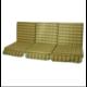 Универсальный 3-х блочный комплект на качели с сиденьем шириной 175 - 185 см. Шо