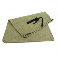 Мешок для страховой почты с замком зелёный, брезент, 60×90 см