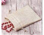 Джутовые мешки для ювелирных украшений