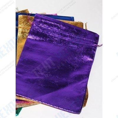 Мешочки из разноцветной парчи