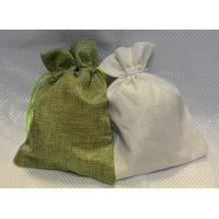 Мешочки из натурального и искусственного джута 30х40 см