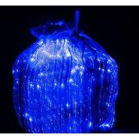 Мешочки из светодиодной ткани с синей подсветкой