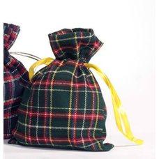 Мешочки и сумки из шотландки