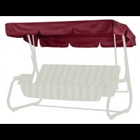 Тент-крыша для садовых качелей нирвана бордовый