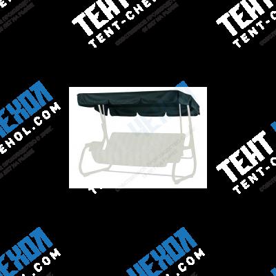 Тент-крыша для садовых качелей пилот/вираж зеленый(220х148см)