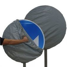 Чехол на дорожный знак круг 700мм