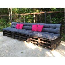 Подушки на диваны,поддоны.Комплект № 1 120*60см