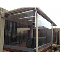 Прозрачные пвх шторы для кофейни