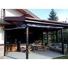 Прозрачные пвх шторы для кафе и ресторанов