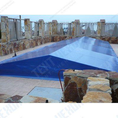 Накрытие из пвх для бассейна