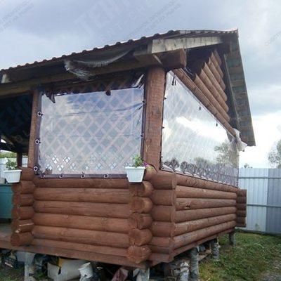 Мягкие окна пвх с москитной сеткой