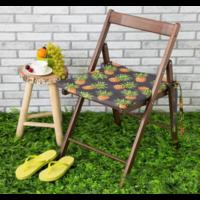 Подушка на уличное кресло «этель» ананасы, 50×100+2 см