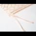 Подушка на уличное кресло этель «сетка», 50 × 100 см + 2 см