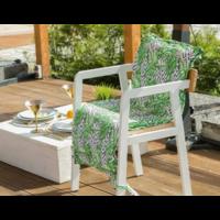 Подушка на уличное кресло этель «геометрия», 50 × 100 см + 2 см