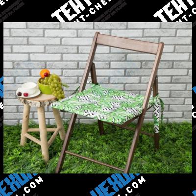 Подушка на стул уличная «этель» геометрия, 45×45 см