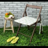 Подушка на стул уличная «этель» листья 45×45 см