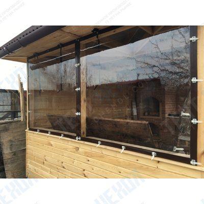 Гибкие окна для террасы