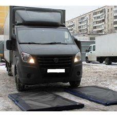 Дезинфекционный барьер для автотранспорта 100 см х 200 см х 4 см
