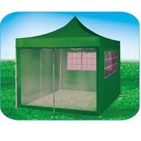 Стенка-сетка с «молнией»-входом 4.5м, белая, для быстросборных шатров зеленый