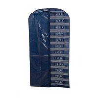 Чехол влагостойкий для хранения верхней одежды объёмный, с карманами