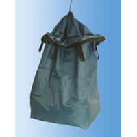 Мешок на тележку для сбора загрязненного белья с клапаном