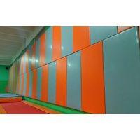Стеновой протектор СТАНДАРТ 40мм (ПВХ-ткань 630гр/м2, НПЭ 22кг/м3) ПОД КЛЮЧ