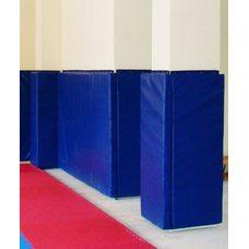 Мат-протектор для стен люверсами (верх и низ)   2х1х0,05