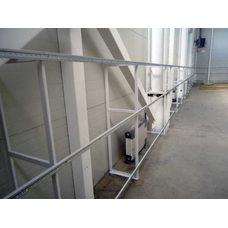 Металлический каркас для стеновых протекторов