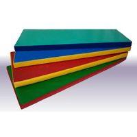 Мат гимнастический поролон плотн. 22 кг/м3 (р-р 1*2*0,10) винилискожа, на молнии