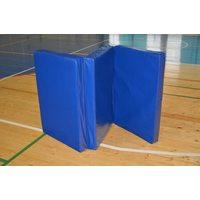 Мат гимнастический складной 2х1х0,1м КЛАССИК (иск. кожа, 3 сложения) ММ100-10