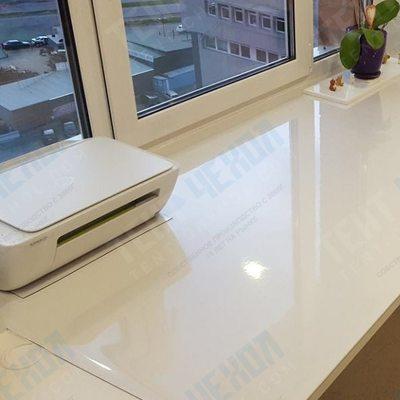 Прозрачная скатерть размер 140х140*0,1см мягкое (гибкое) стекло
