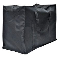 Сумка - баул тканевая черная  №80 (большая), 64*35*52 см