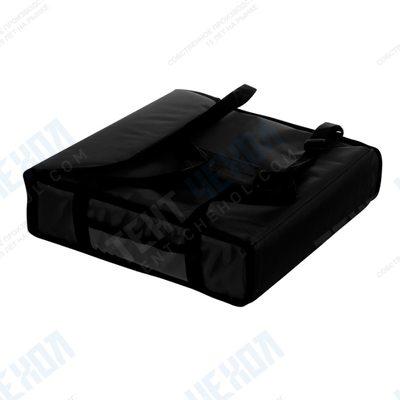 Термосумка на 2 пиццы 450х450х100 мм фольгированная XXL