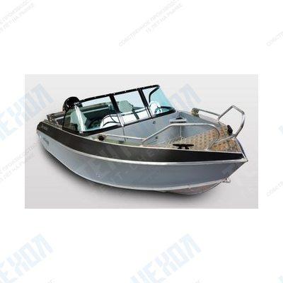 Тент на лодку волжанка 53 fish 2018 г.
