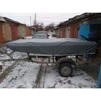 Тент на лодку laker 410
