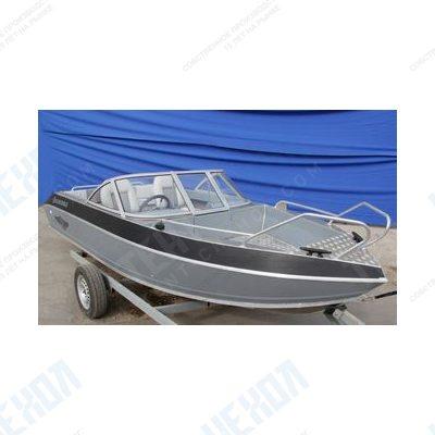 Тент на лодку windboat 46 evo