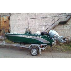 Тент на лодку crestliner 1750 super hawk 540