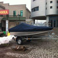 Тент на лодку windboat-46mdc