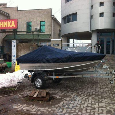 Тент на лодку windboat 42c