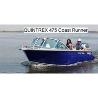 Тент на quintrex 475 coast runner