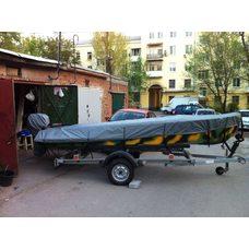 Тент на лодку казанка - м