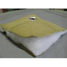Тент тарпаулин утепленный 180 гр./м.Кв. (с изолоном 5 мм.) 4х6,с люверсами